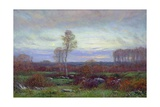Autumn Evening Giclee Print by Dwight William Tryon