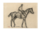 Jockey Giclee Print by Edgar Degas