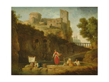 View of Italy Giclee Print by Claude Joseph Vernet