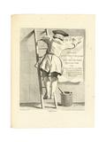 L'Afficheur, C. 1737-1746 Giclee Print by Edme Bouchardon