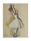 Danseuse Debout, C. 1885 Giclee Print by Edgar Degas