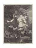Paradise and Perl Giclee Print by Chevalier Louis-William Desanges