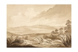 No 3 View of the Telegraph and Part of the French Position', 1815 Giclee Print by Denis Dighton
