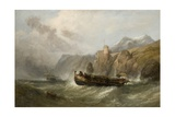 Coastal Scene, 1862 Giclee Print by Clarkson R.A. Stanfield