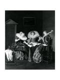 Musical Scene, 1637 Lámina giclée por Dirck Hals