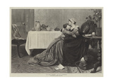At Last, Mother! Giclee Print by David Wilkie Wynfield