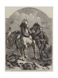 Colonel Bell, Vc, Royal Welsh Fusiliers, 23rd Regiment Giclee Print by Chevalier Louis-William Desanges