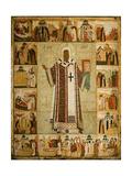 Saint Alexius Giclee Print by  Dionysius