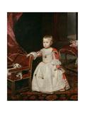 Prince Philip Prosper (1657-61), 1659 Giclee Print by Diego Rodriguez de Silva y Velazquez