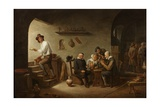 Interior of a Tavern, C.1640 Giclee Print by David the Younger Teniers