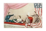 Assassination of Abraham Lincoln Giclee Print by  Currier & Ives