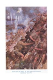 Landing at Gallipoli. Midst Shot and Shell We Made the Narrow Beach Giclee Print by Cyrus Cuneo