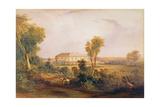 Camden Park House, Home of John Macarthur (1767-1834), 1843 Giclee Print by Conrad Martens