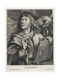 St. John Giclée-Druck von Cornelis Visscher