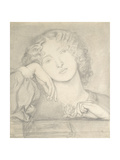 Monna Rosa, 19th Century Giclee Print by Dante Gabriel Charles Rossetti