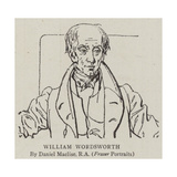 William Wordsworth Giclee Print by Daniel Maclise