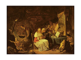 Incantation Scene Giclee Print by David the Younger Teniers