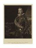 Portrait of Don Antonio Alonso Pimentel, Count of Benavente Giclée-Druck von Diego Rodriguez de Silva y Velazquez