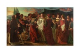 The Lady's Knight Giclee Print by David Wilkie Wynfield
