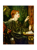 Veronica Veronese, 1872 Giclee Print by Dante Gabriel Charles Rossetti