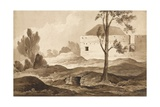 No 9 Farme Du Gourman from the Right', 1815 Giclee Print by Denis Dighton