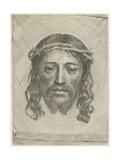 The Sudarium of Saint Veronica, 1649 Giclee Print by Claude Mellan