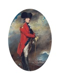 Portrait of Charles, 1st Marquis Cornwallis, 1782 (Pencil, Pastel and Bodycolour on Paper) Giclee Print by Daniel Gardner