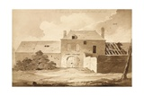 No 5 the House of Du Gourmon from the Wood on the Left', 1815 Giclee Print by Denis Dighton