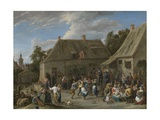 Peasant Kermis, C.1665 Giclee Print by David the Younger Teniers