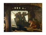 The Traitor's Gate Giclee Print by David Scott