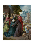 Christ Taking Leave of His Mother, C.1515-20 Giclee Print by Cornelis Engebrechtsz
