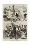 Christmas Pantomimes and Extravaganzas Giclee Print by David Henry Friston