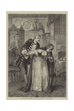 The Late Mr Sothern in the Library Scene in David Garrick Giclee Print by David Henry Friston