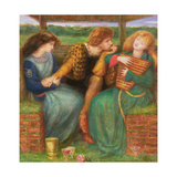 The Merciless Lady, 1865 Giclee Print by Dante Gabriel Charles Rossetti