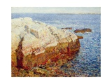 Cliff Rock, Appledore, 1903 Giclee Print by Childe Hassam