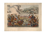 Battle of Waterloo, 1816 Giclee Print by Denis Dighton