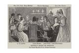 Regina's Maids of Honour Giclee Print by Daniel Maclise
