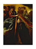 The Virgin Appearing to St Ildephonsus and Giving Him a Robe Giclee Print by Diego Rodriguez de Silva y Velazquez