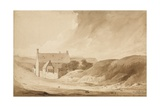 No 8 Farme De La Haie Sainte from Mount St John', 1815 Giclee Print by Denis Dighton