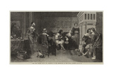 The Rich Widow Giclee Print by David Wilkie Wynfield