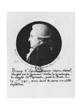 Antoine Raymond Joseph De Bruni D'Entrecasteaux Giclee Print by Edme Quenedey