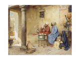 The Scribe, 1886 (Panel) Giclee Print by Charles Wilda
