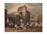 Pursuit of the French at Toulouse, 1814 Giclee Print by Denis Dighton