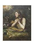 The Penitent Magdalene, C.1598 Giclee Print by Domenico Robusti Tintoretto