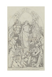 Cartoon, the Spirit of Chivalry Giclee Print by Daniel Maclise