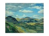 Landscape, C.1919 Giclee Print by Derwent Lees