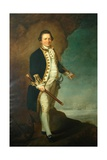 Captain Wood of Bolling Hall, 1770 Giclee Print by Dominic Serres