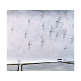 Flock I (Bullfinches), 2000 Giclee Print by Charlie Baird