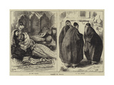 Women in Persia Giclee Print by Edward Frederick Brewtnall