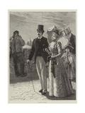 After Church Giclee Print by Edward Frederick Brewtnall